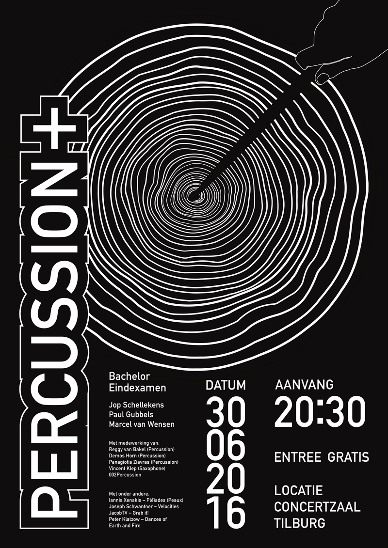 percussion-poster